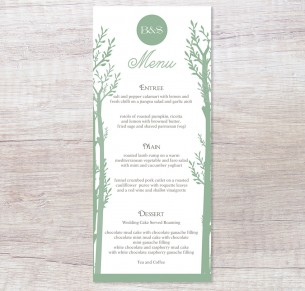 Endless forest menu