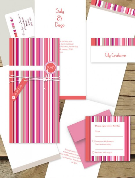french stripe package