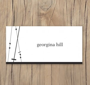 crossed paths placecard
