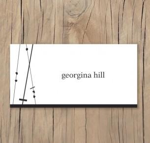 crossed paths placecard