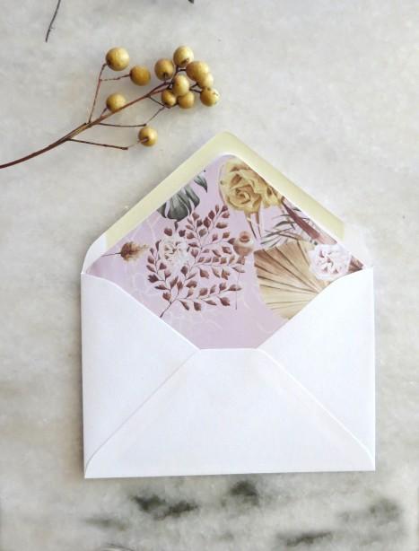 envelope liner thumberlina blush