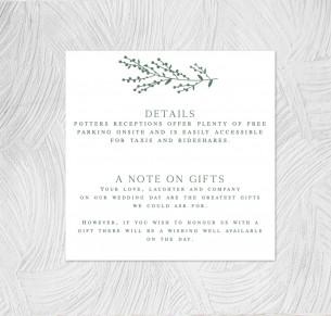 details card sage
