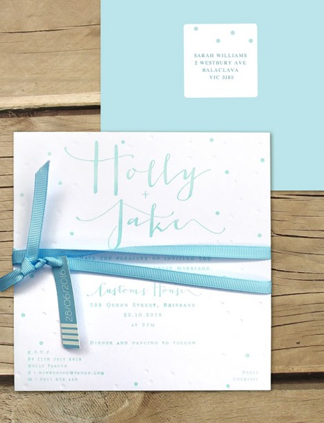 Letterpress! The Modern Classic invitation