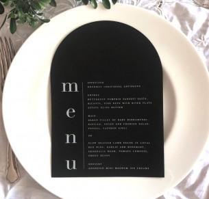 arch menu minimalist