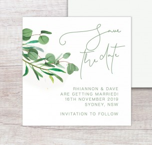 eucalypt fresh save the date