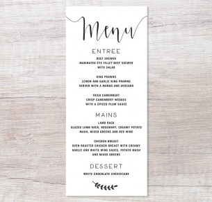 simply sublime black menu