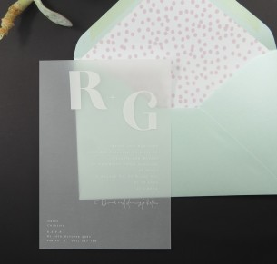 Vellum fusion invitation