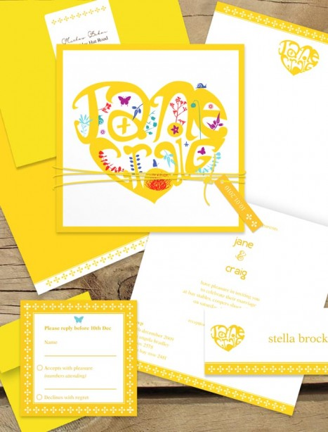 heart typography package