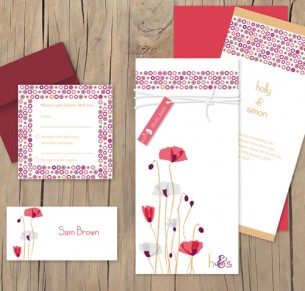 paper poppies package