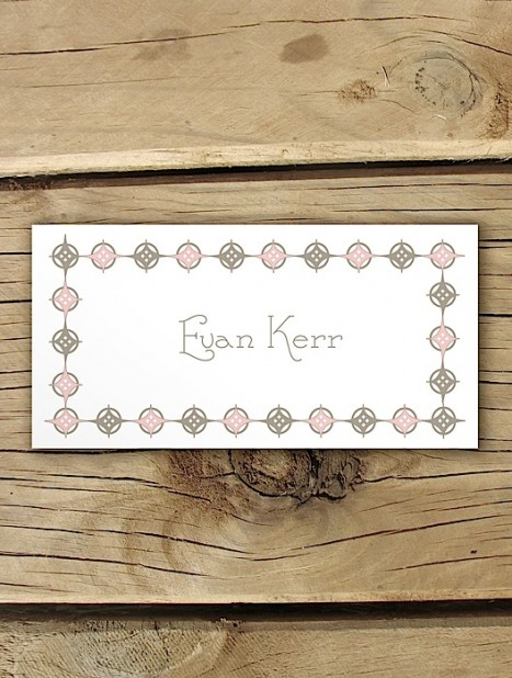 orchid delight placecard