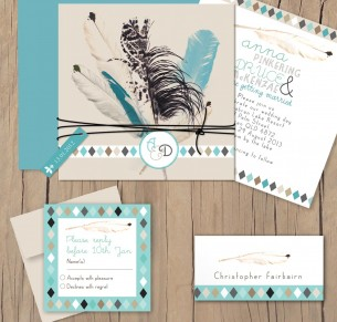 boho feather package