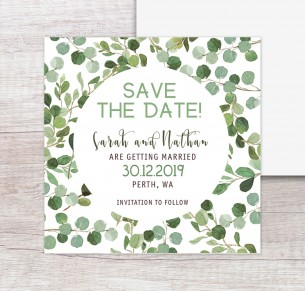 Nature lover save the dates