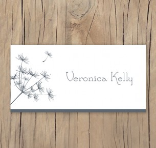 dandelion days placecard