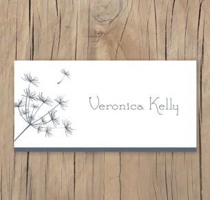 dandelion days placecard