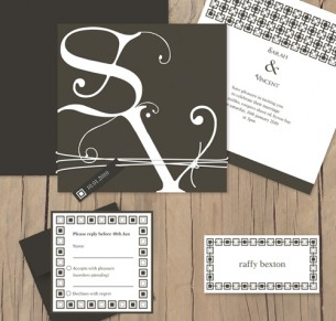 budding monogram package