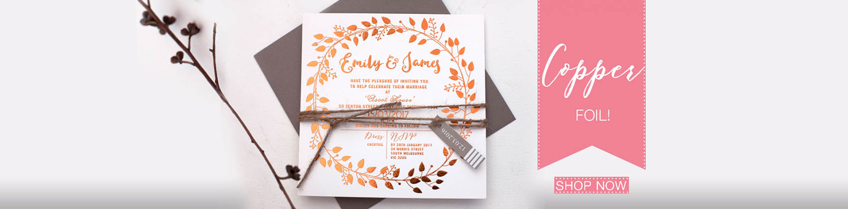 Modern unique designer wedding invitations stationery online australia stopboris Gallery